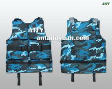 militar de flotación chaqueta de la vida de kevlar body armor
