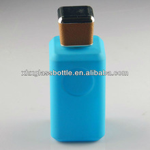 New design blue glass perfume bottles wholesale 100ml guangdong