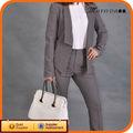 Recién venida gris diseñador de los trajes del mujeres