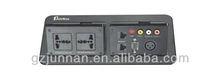 multifunctional electeic desktop socket for conference system