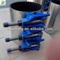 Zr-1 ferro dúctil fácil removível braçadeira de tubulação