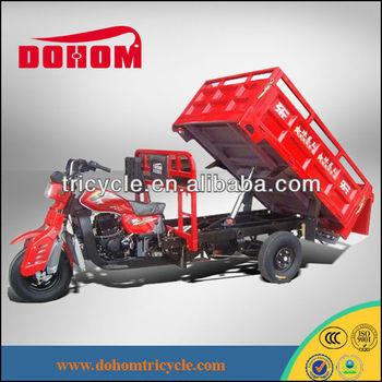 DOHOM 250CC hydraulic cargo tuk tuk tricycle motorcycle