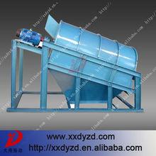 High efficiency vibrating drum coal shaker screen