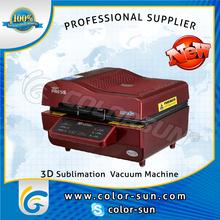 3d sublimation vacuum machine/cotton t -shirt A3 SIZE heat transfer machine
