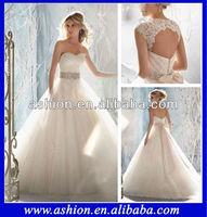 WE-1800 Stunning two pieces ball gown princess wedding dresses china guangzhou wedding dress