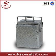 Beverage Diamond Aluminium Ice Box/ Car Cooler Box