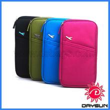 Documents bag multifunctional card/ticket/passport holder folder travel wallet