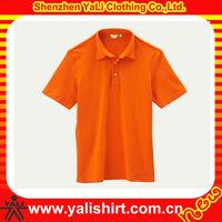 Custom high quality blank short sleeve cotton men wholesale clothing market