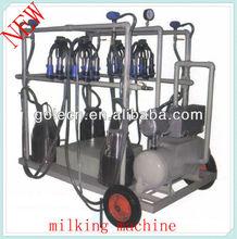 pipeline milking system