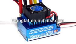 Hobbywing Xerun 120a Blue V2.1 Brushless Esc For Rc Car