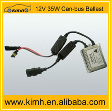 Best performance!! canbus slim sliver ballast for HID lamp