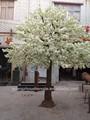 Venta al por mayor fabricante caliente de la venta barato del nuevo diseño de la boda decorativa artificial fake blanco árbol de flor de cerezo