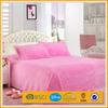 100% polyester Coral fleece bed sheet set solid color