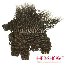 100 percent human virgin remy weave hot sell Hershow indian remy hair extension wholesale