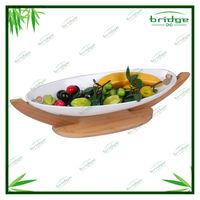 Totally Bamboo Ceramic Fruit basket