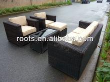 6 Piece Outdoor Sofa Sectional Set, Seats 5 Patio Furniture CONFIGURABLE