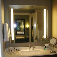 Frameless T5 Fluorescent Bathroom Lighting Mirror
