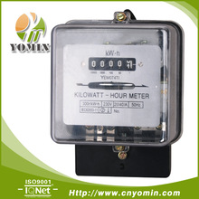127V 230V Single Phase Front Board Installation Analog Energy Meter KWH Meter Electric Meter with PC Transparent Cover