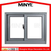 Anodised aluminum functional aluminum safety glass sliding window