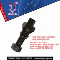Fuso Rear truck wheel bolt, truck wheel hub bolt