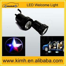2013 led logo car door shadow projector light for car Door