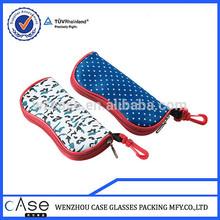 WENZHOU CASE LB06 neoprene glasses case with zipper