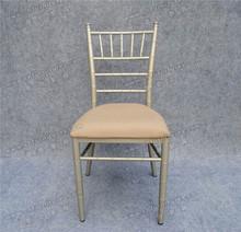 High quality ,hotel furniture ,white aluminum banquet chiavari chair ,with moveable cushion YC-A21