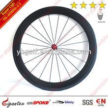 Roue de bicyclette de carbone/haute qualité roue de bicyclette/50mm jante pneu