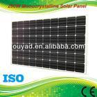 250W Monocrystalline solar panel