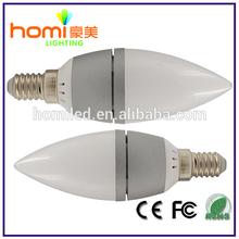 Aluminum Shell E14 Candle light
