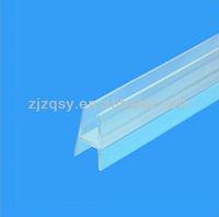 PVC shower glass door seal strip