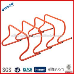 8-12 inch folded Pvc Speed Hurdles for soccer training