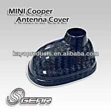 Real Carbon Fiber Antenna Cover for MINI Cooper R56 '07~'13