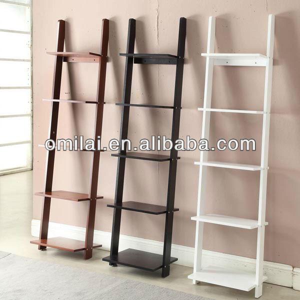 Hogar mdf estanter a escalera mueble de madera - Estanteria escalera ikea ...