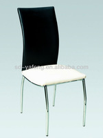modern leather dining chair living room chair kitchen chair P9046