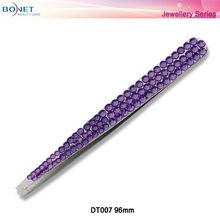 DT007 Diamante Fashion Tweezers