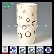 Large White Ceramic Vase For Home Decor