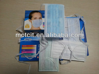 disposable 3-ply face mask for food service
