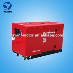 Air Cooled 2 cylinder 10kW diesel generator set