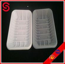 PET vegetables/fruit plastic storage tray
