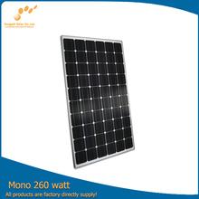 Competitive price per watt mono Solar Panel 260w
