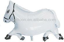 Horse shaped balloon modeling