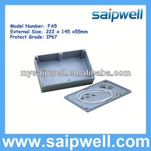 ALUMINUM ELECTRONIC ENCLOSURES IP67 USED IN INSTRUMENTS AND METERS