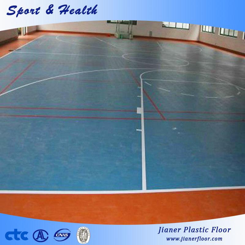 Shiny PVC Flooring,Basketball Court, PVC Sports Flooring For Indoor