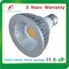 High quality led par38 cob led spotlight, E27 dimmable cob led par30 lamp, 14W par30 LED bulb