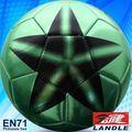 Cosido a máquina PVC de cuero sintético mapa de la copa del mundo de bola