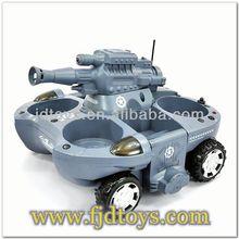 kid toys Amphibious shooting rc tank,rc car toys