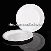 disposable colorful part eco-friendly paper plate