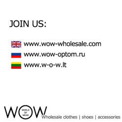 CARAMELO women and men clothes stock autumn/winter