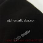 korean black wool chiffon abaya fabric material